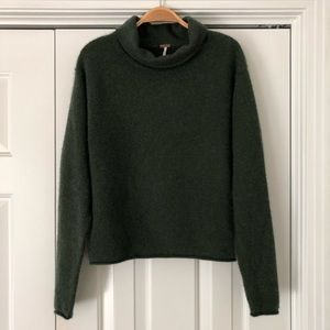 Free People Cozy Cashmere Turtleneck Sweater
